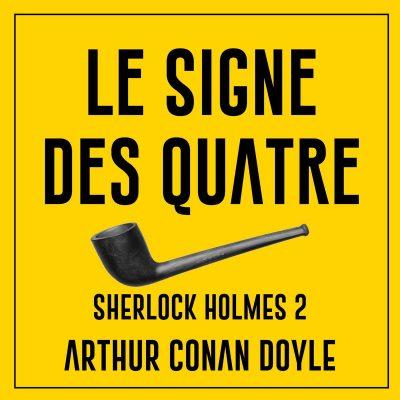 کتاب صوتی فرانسوی شرلوک هلمز: نشان چهار