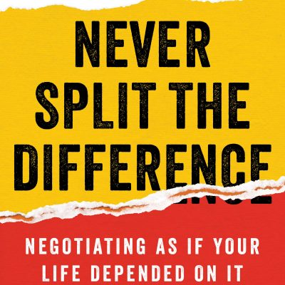 Christopher Voss with Tahl Raz - Never Split the Difference BookZyfa