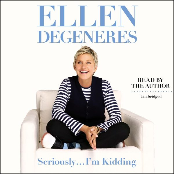 Ellen DeGeneres - Seriously... I'm Kidding BookZyfa