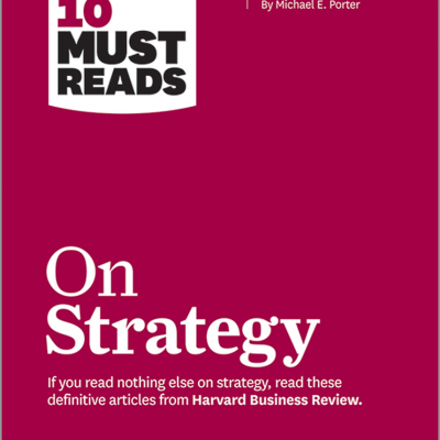 HBR's 10 Must Reads on Strategy BookZyfa