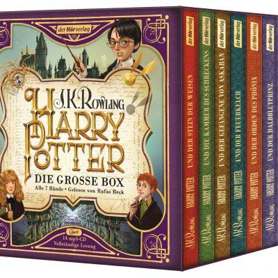 Harry Potter Hörbücher 1-7 Deutsch