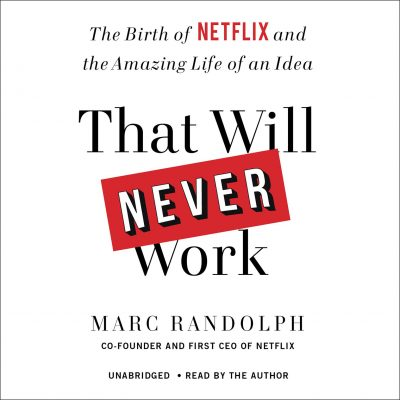 Marc Randolph - That Will Never Work BookZyfa