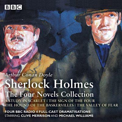 کتاب صوتی انگلیسی مجموعه اول شرلوک هلمز: چهار رمان