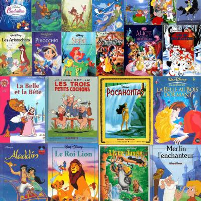 Walt Disney - 21 histoires - L'histoire et les dialogues BookZyfa