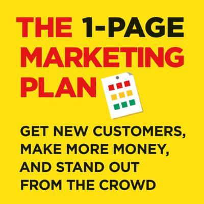 کتاب صوتی انگلیسی بازاریابی یک صفحهای