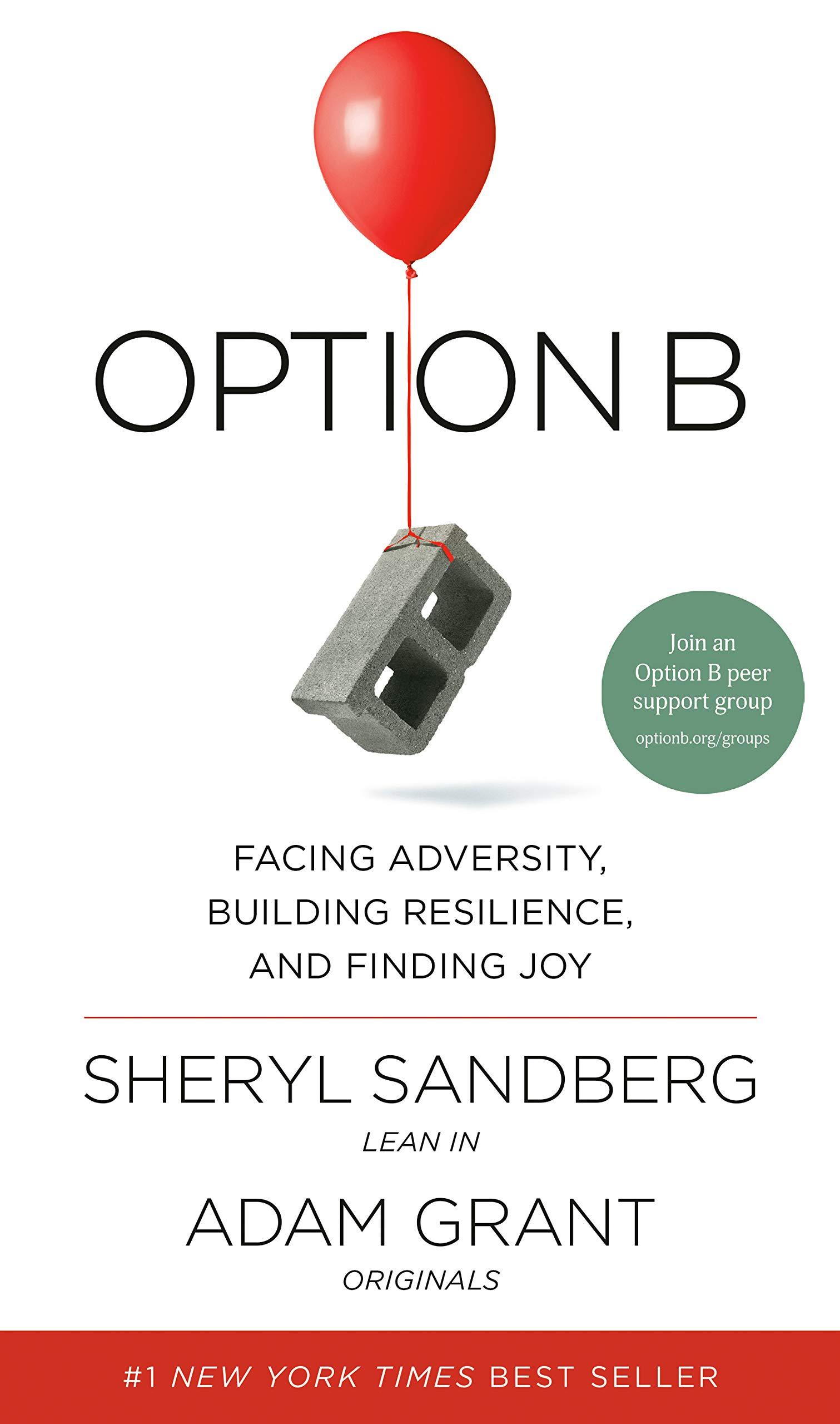Sheryl Sandberg and Adam Grant - Option B BookZyfa