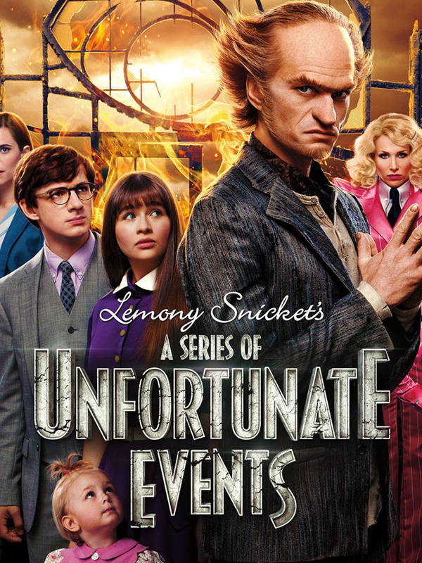 A Series of unfortunate events Banner BookZyfa