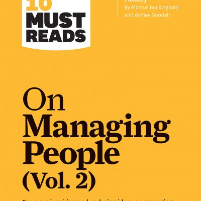 HBR's 10 Must Reads on Managing People, Vol. 2 BookZyfa