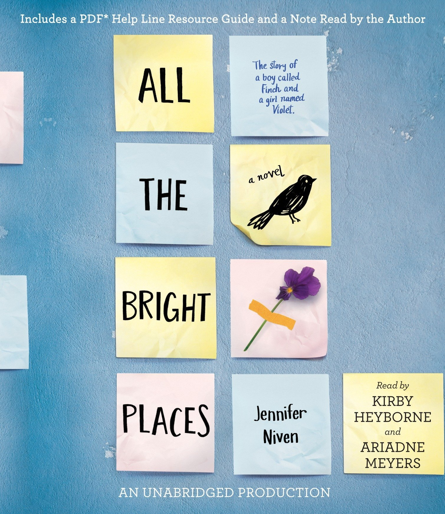 Jennifer Niven - All the Bright Places BookZyfa