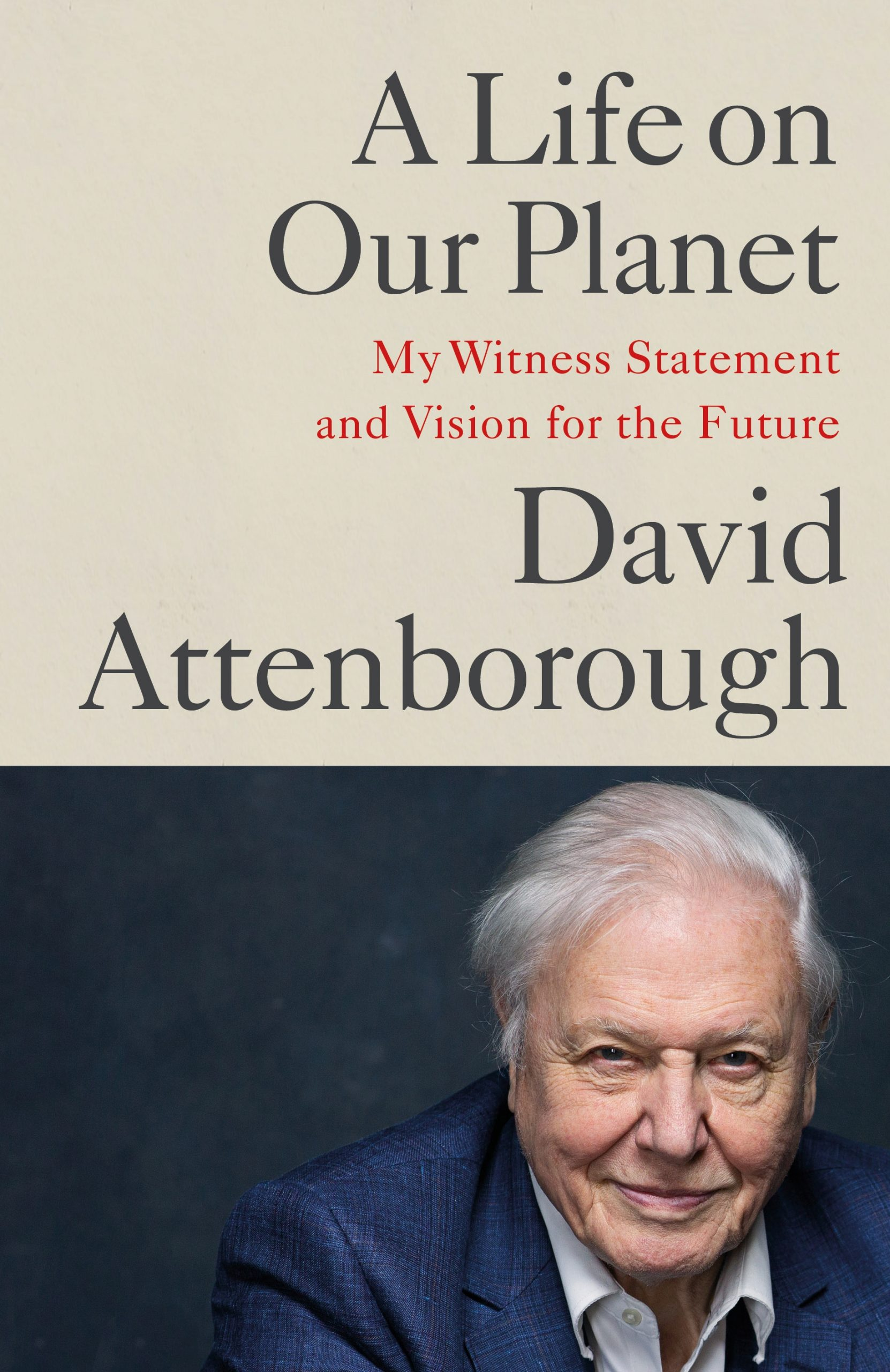 David Attenborough - A Life on Our Planet BookZyfa