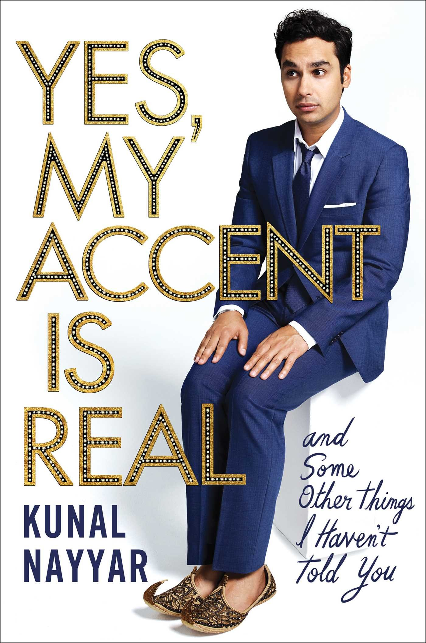 Kunal Nayyar - Yes, My Accent Is Real BookZyfa