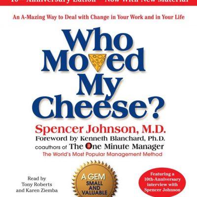 کتاب صوتی انگلیسی چه کسی پنیر مرا جابجا کرد؟