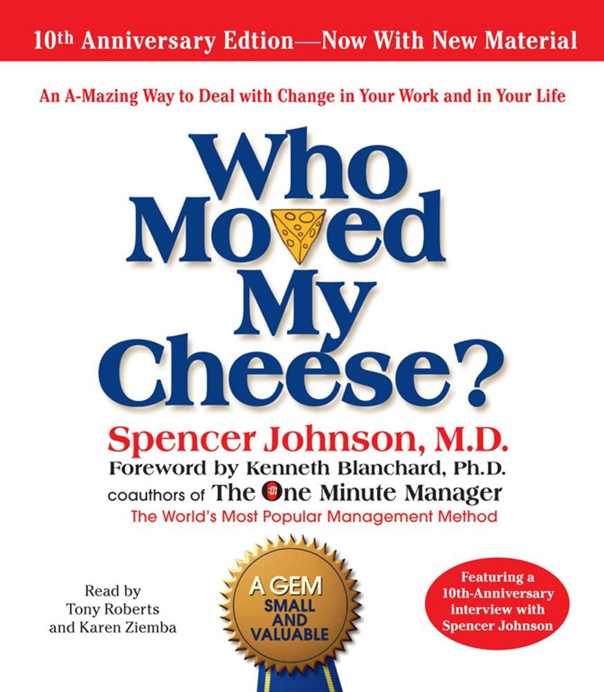 Spencer Johnson - Who Moved My Cheese BookZyfa