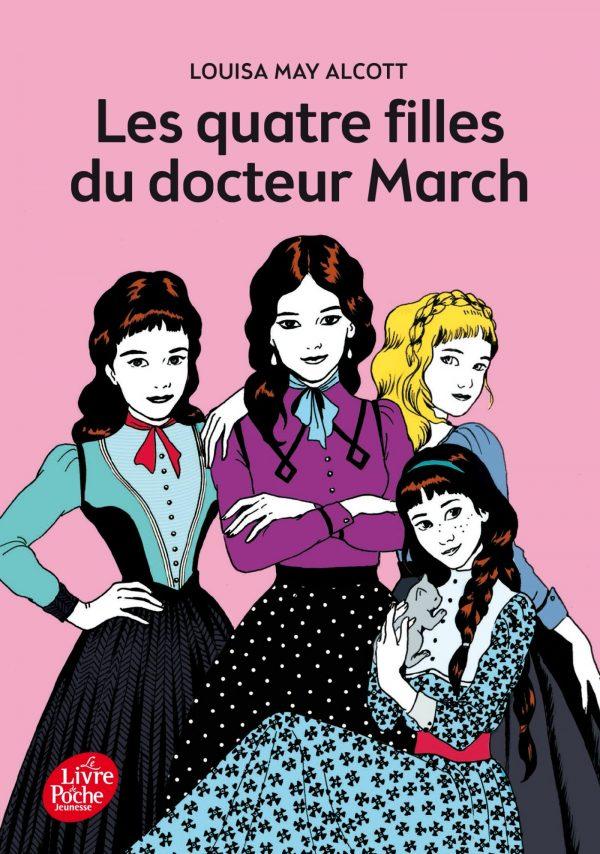 Louisa May Alcott - Les quatre Filles du Dr March BookZyfa