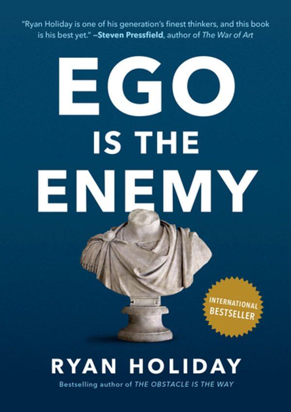 Ryan Holiday - Ego Is the Enemy BookZyfa