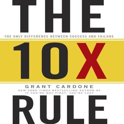 کتاب صوتی انگلیسی قانون 10 برابر