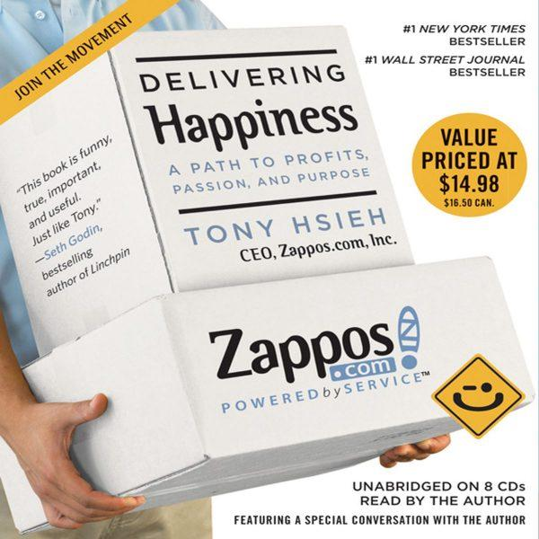 Tony Hsieh - Delivering Happiness BookZyfa