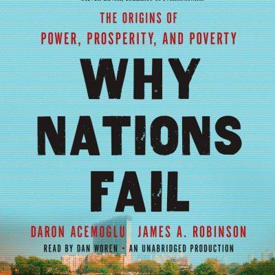 کتاب صوتی انگلیسی چرا ملتها شکست میخورند