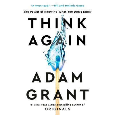 Adam Grant - Think Again BookZyfa