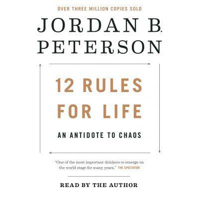 Jordan B. Peterson - 12 Rules for Life BookZyfa
