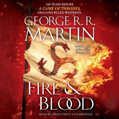 کتاب صوتی انگلیسی آتش و خون