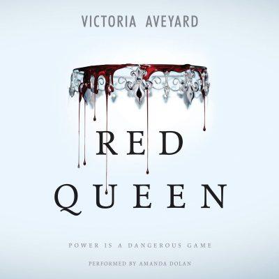 کتاب صوتی انگلیسی ملکه سرخ